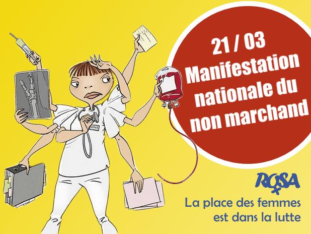 21 mars – Manifestation nationale : la nouvelle colère blanche