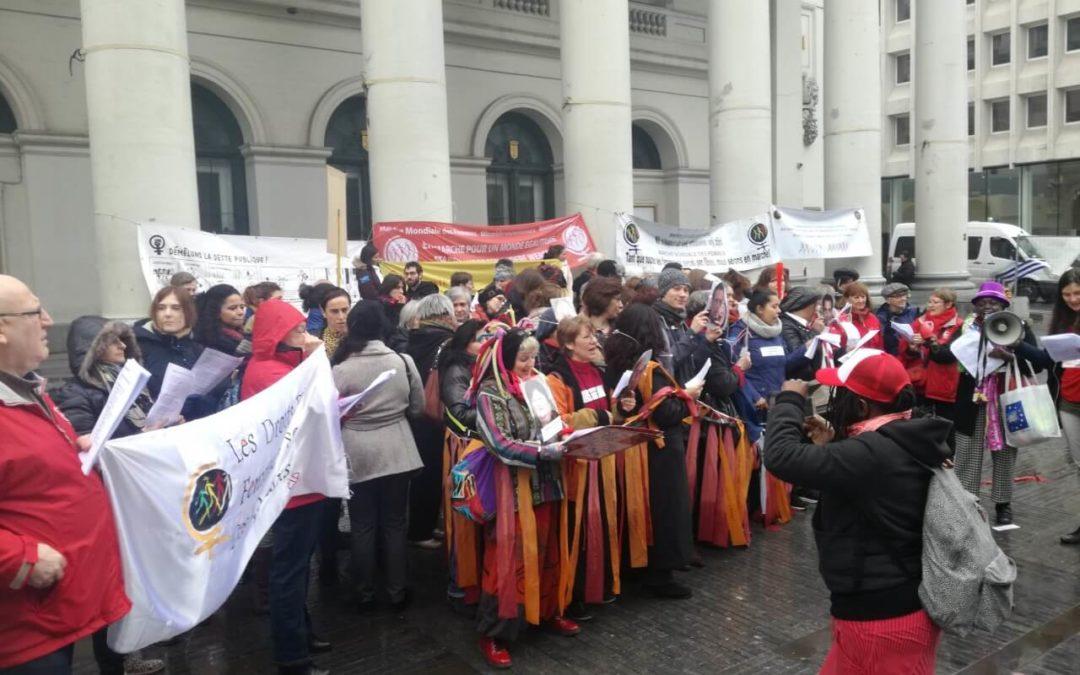 4 Mars – «Les femmes serrent la ceinture au gouvernement !»