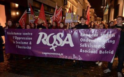 8 Mars 2017 – 600 participants à la manifestation antisexiste à Gand!