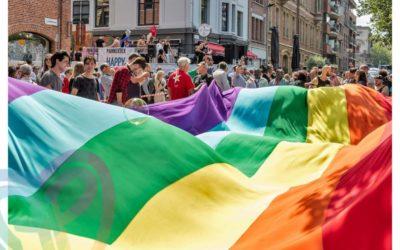 Pride is a protest!  L'égalité reste à gagner, luttons pour l'imposer !