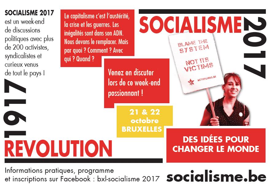 Parcours ROSA à Socialisme 2017: 100 ans de la Révolution Russe