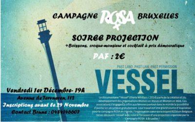 Soirée ROSA Bruxelles – Projection du documentaire «Vessel»