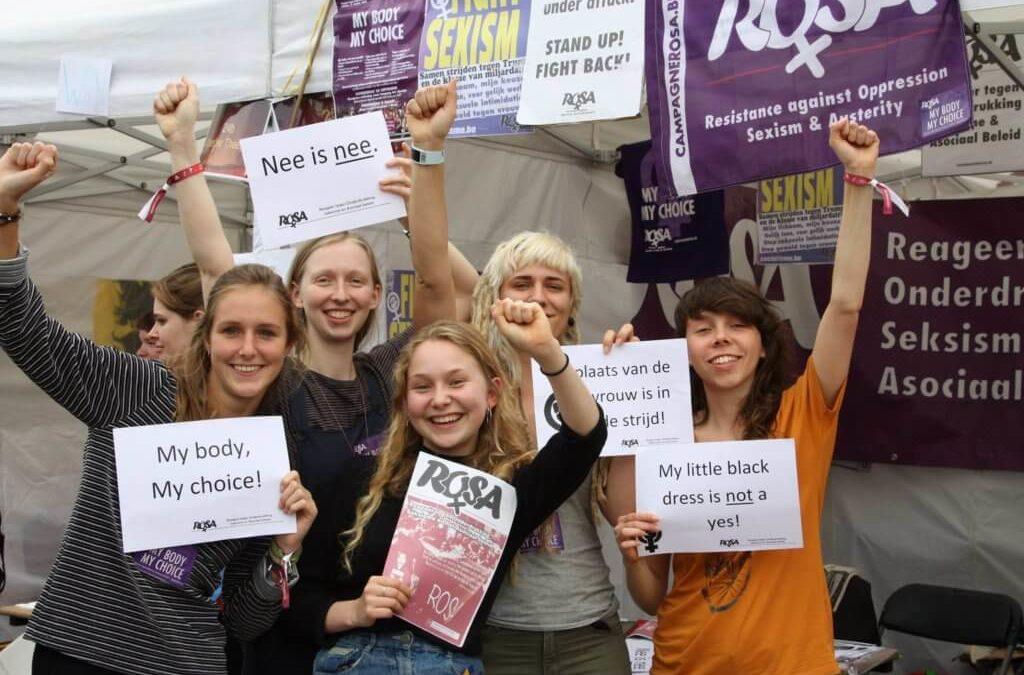 [8 mars 2018 – Belgique] Organisons des actions contre le sexisme dans un maximum de villes !