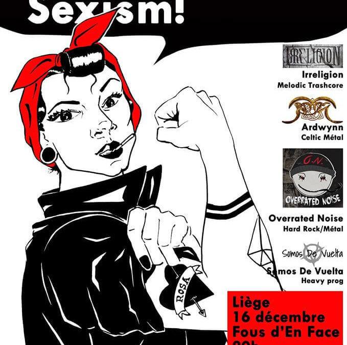 16 décembre – Metal Against Sexism