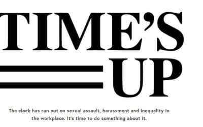 Les femmes d'Hollywood lancent ''Time's Up''