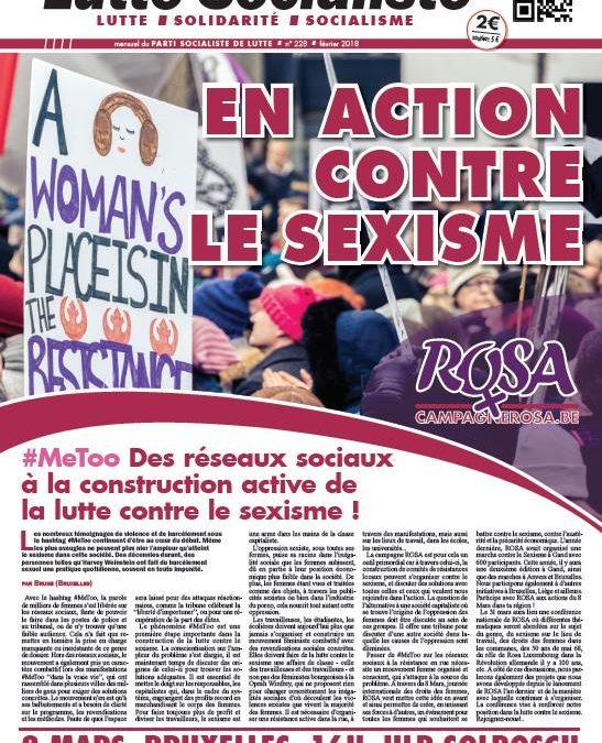 En action contre le sexisme !