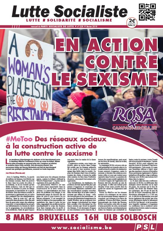 En action contre le sexisme !