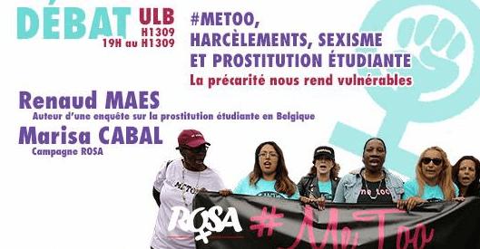 [ROSA Bruxelles] Débat #metoo, sexisme : la précarité nous rend vulnérables