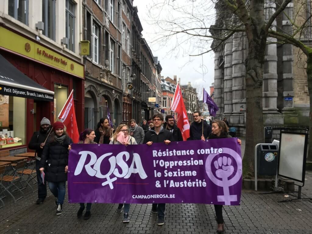 8 mars/Namur – Action contre le sexisme et la précarité !