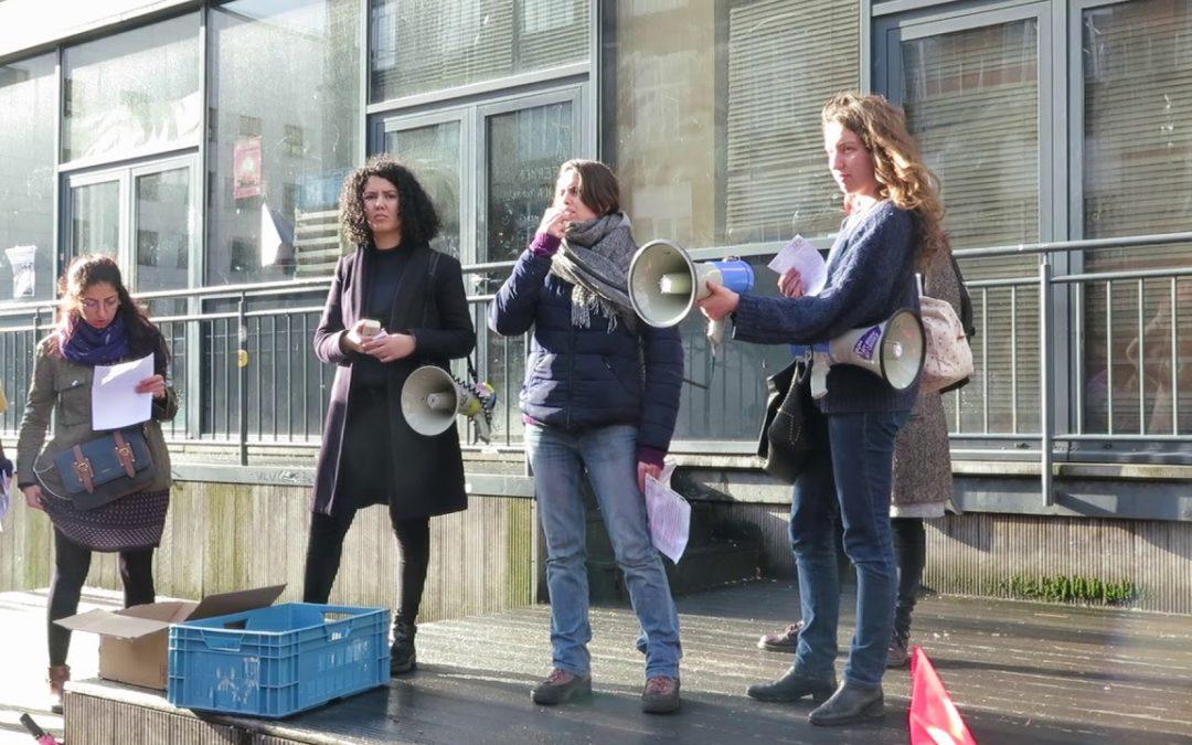 8 mars – Rencontre avec Marisa et Anja de la Campagne ROSA Bruxelles