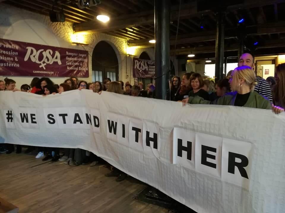 Stop aux violences sexistes! Manifestation contre la violence faite aux femmes le 24 novembre !