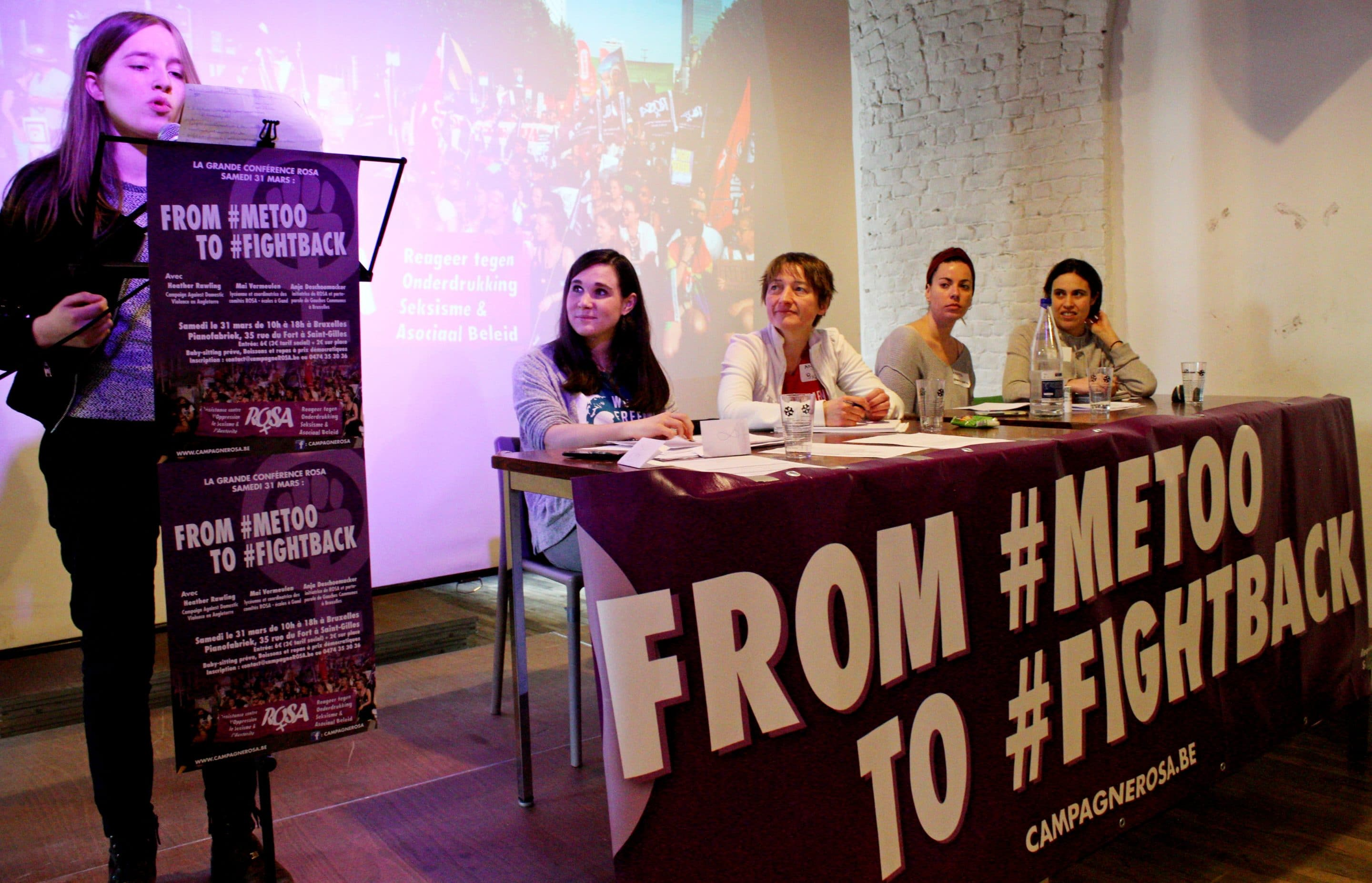 31 mars – Conférence ROSA : From MeToo to FightBack !