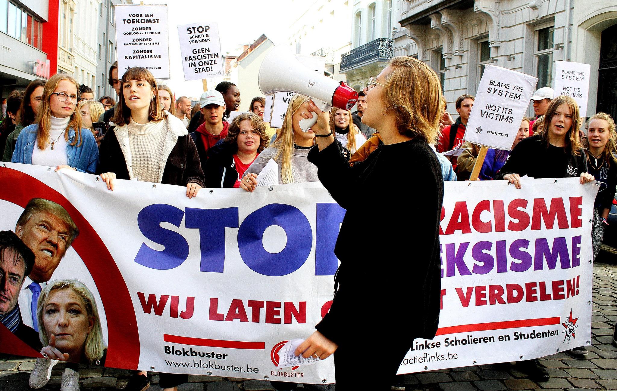 Gand – Mobilisation énergique contre l'extrême droite