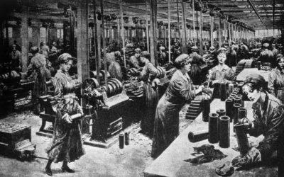 Angleterre – Les femmes dans la première guerre mondiale