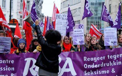 25 novembre - Manifestation réussie contre la violence faite aux femmes !