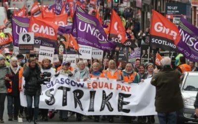 Ecosse - Les femmes écrivent une nouvelle page de l'histoire de la lutte pour l'égalité salariale