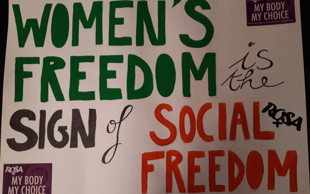 En lutte contre le sexisme, et donc aussi contre la précarité !
