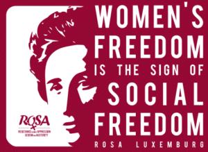 Pas de capitalisme sans sexisme… Pas de socialisme sans féminisme!