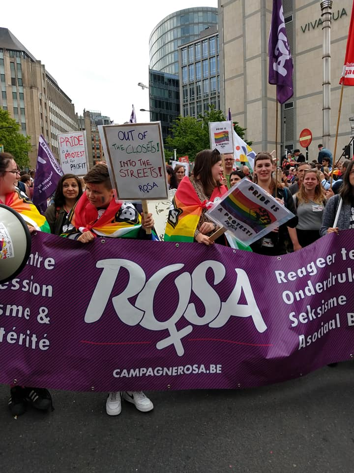 Pride 2019 –  « Diviser pour mieux régner », voilà leur crédo. « S'unir pour mieux lutter », voilà le nôtre.