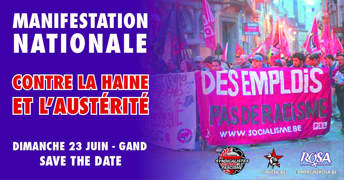 Marche contre la haine et la politique antisociale !