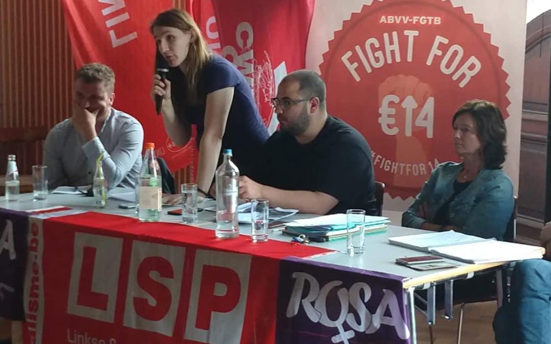 Réunion ROSA : 14€/h min, une revendication féministe