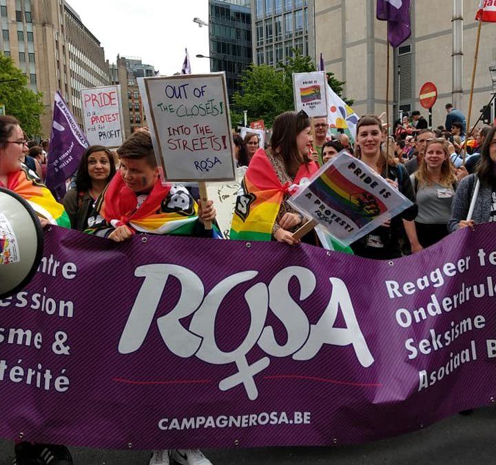 Agressions physiques, homophobes au Parlement: la lutte pour les droits des LGBTQI+ continue !
