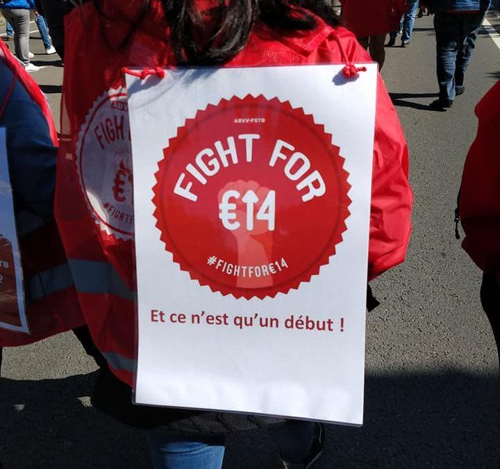 Un salaire minimum de 14€ brut / heure: une revendication féministe !