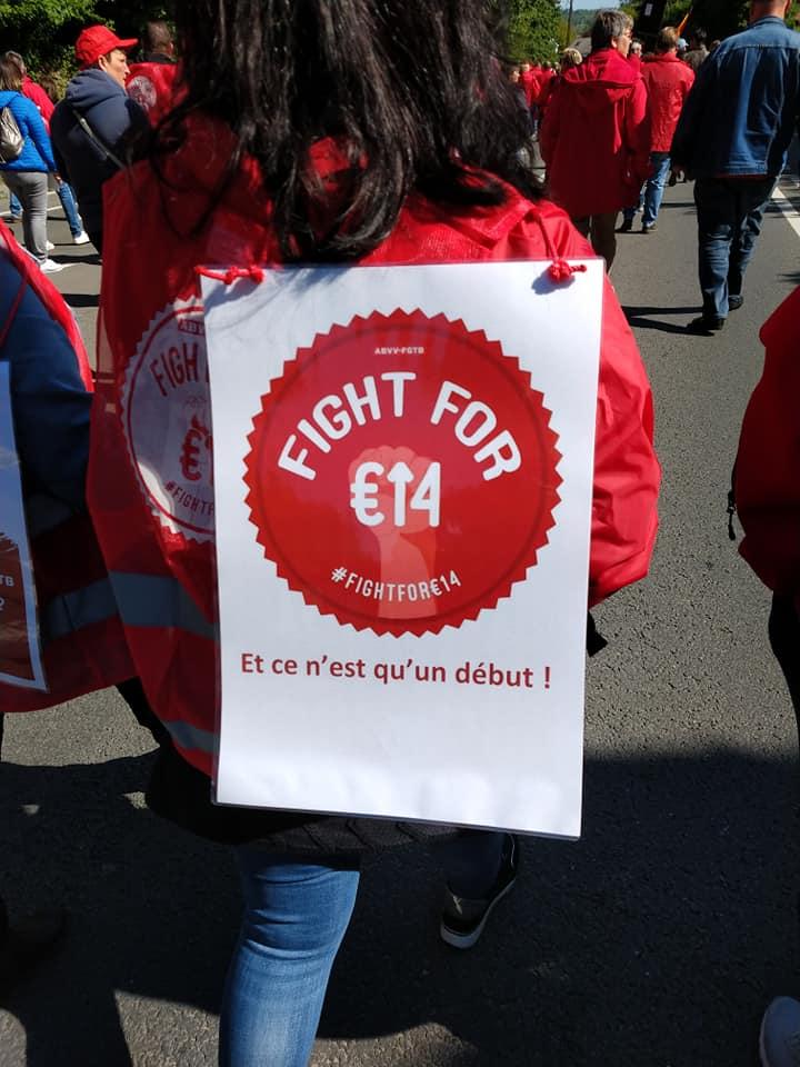 Un salaire minimum de 14€ brut/heure : une revendication féministe !