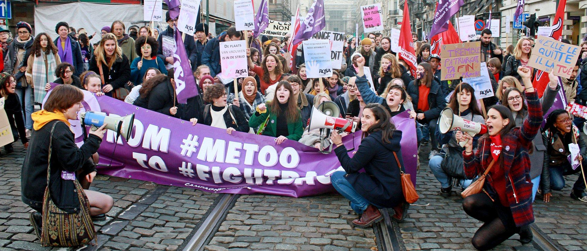 Entre 10.000 et 15.000 personnes pour dire stop aux violences sexistes!