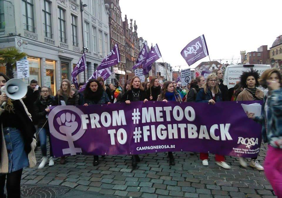 Après le scandale de la vidéo d'Hoeyberghs à l'UGent : protestation contre le sexiste, raciste et homophobe KVHV