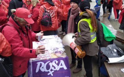 La Campagne ROSA solidaire des travailleuses et travailleurs des titres-services !