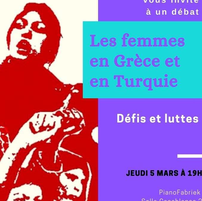 5 mars : Les femmes en Grèce et en Turquie – défis et luttes