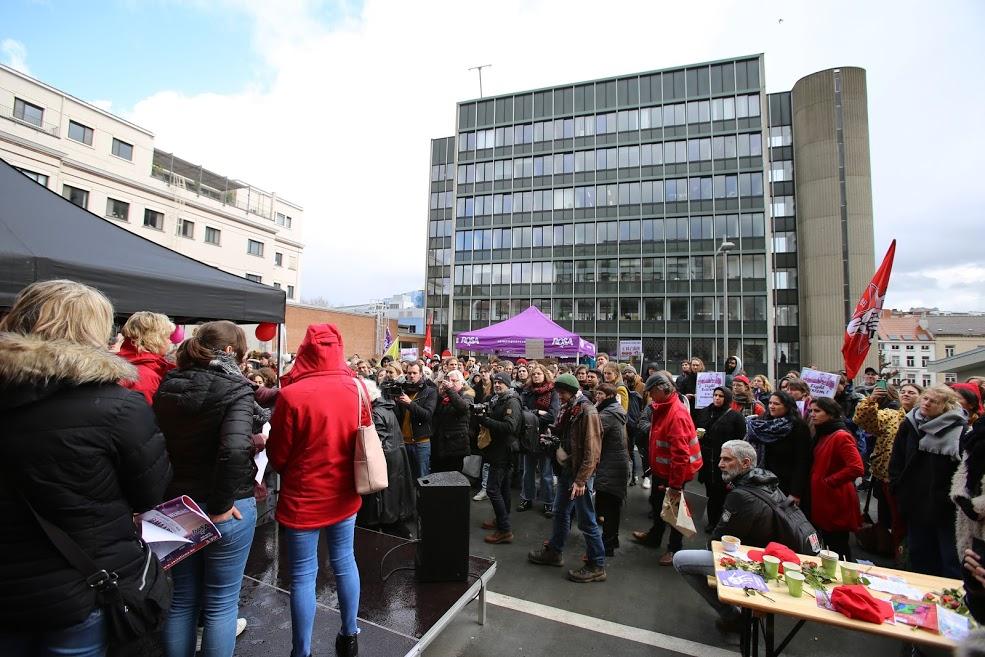 Gand. Grève réussie à l'université pour de meilleures conditions de salaire et de travail