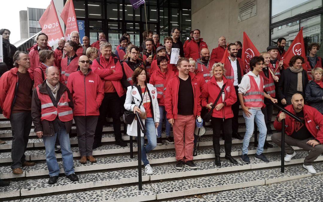 L'université de Gand se prépare pour sa plus grande grève depuis des décennies