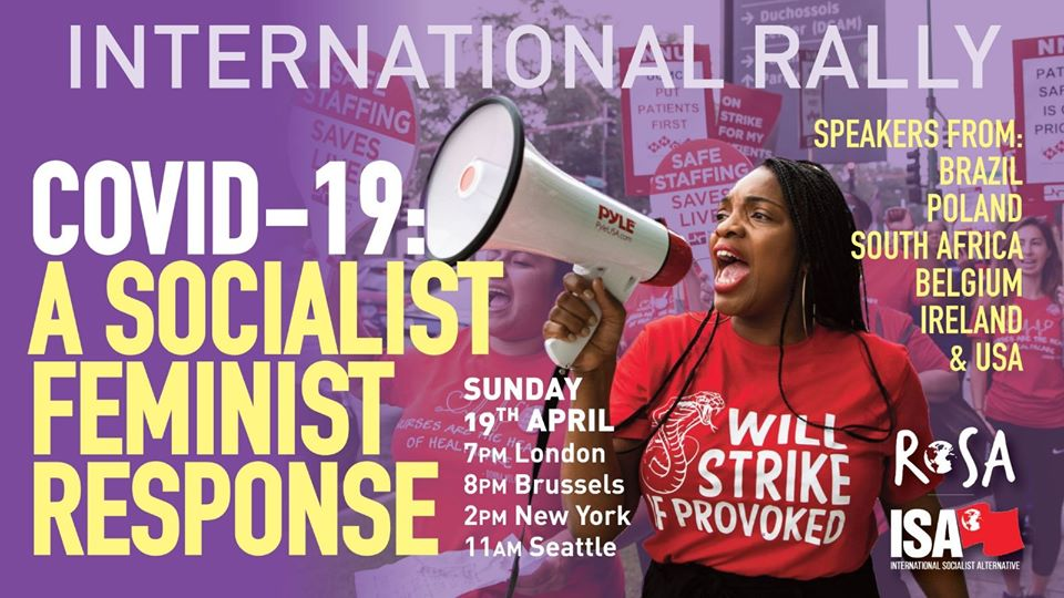 [Meeting online] ROSA International : une réponse féministe-socialiste à la crise du Covid19