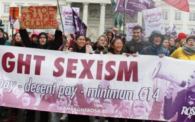 Liège. Continuons la lutte contre la culture du viol !
