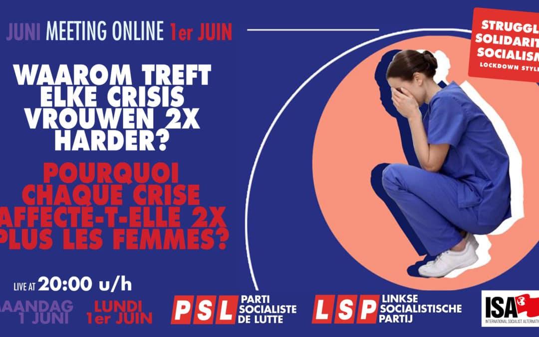 [Meeting online] PSL. Pourquoi chaque crise affecte-t-elle deux fois plus les femmes ?