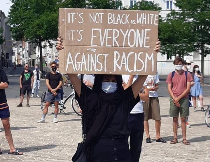 Combattons le racisme par la solidarité. Organisons-nous ! #BlackLivesMatter