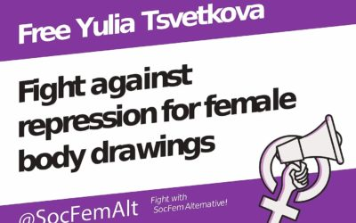 Russie. Free Yulia Tsvetkova!