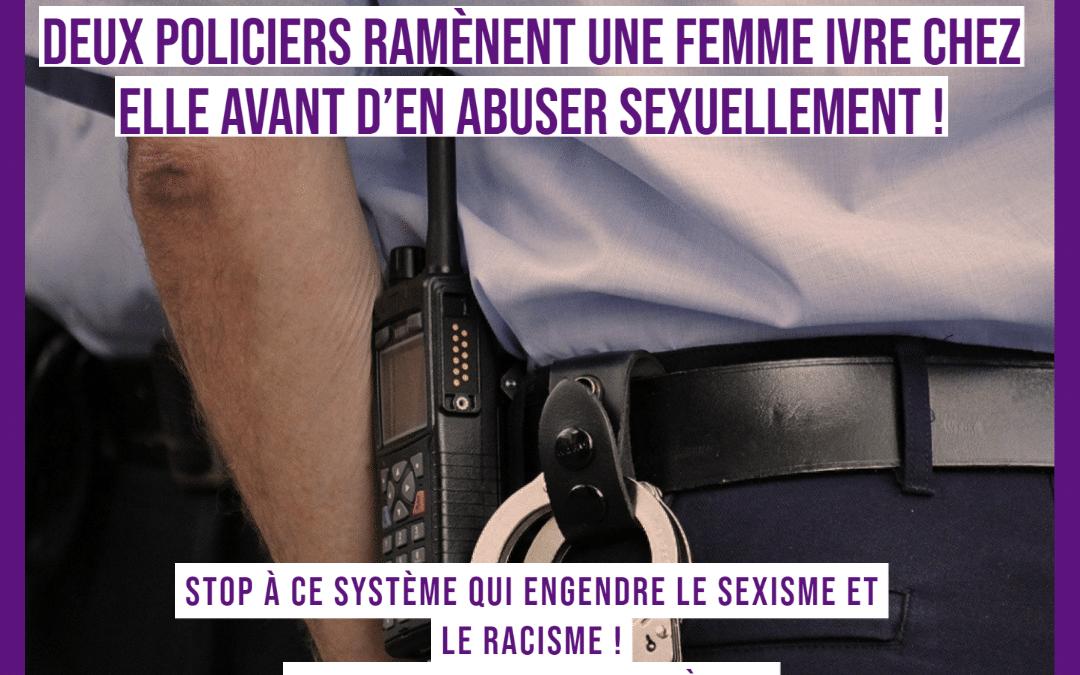 Deux policiers accusés d'avoir abusé une femme sexuellement !