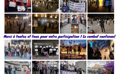 La Campagne ROSA en action dans 11 villes ce 25/11 contre les violences envers les femmes