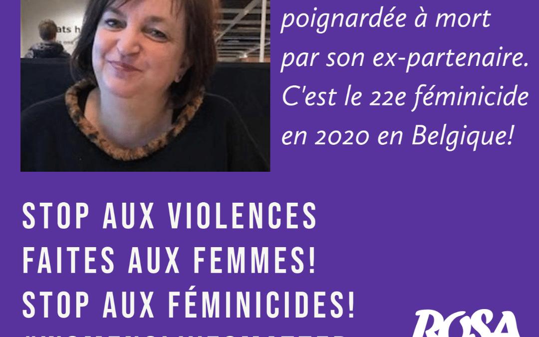 22e féminicide en Belgique en 2020