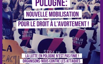 Pologne. Nouvelle mobilisation pour le droit à l'avortement