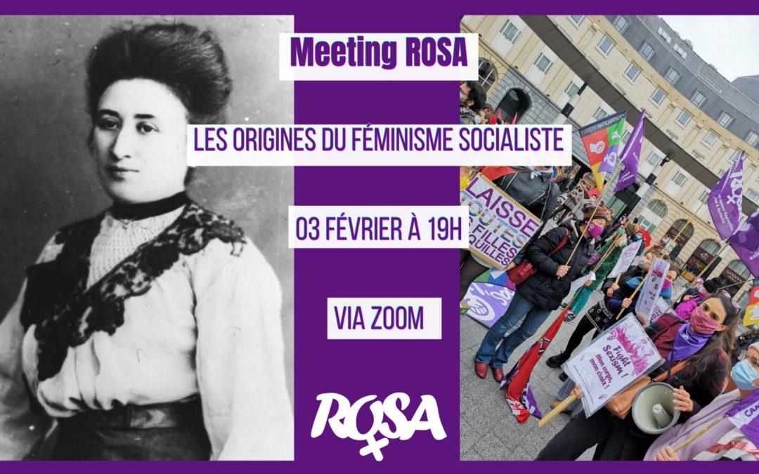 Meeting – Les origines du féminisme socialiste