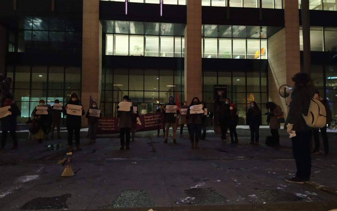 Actions à Gand et Bruxelles: Jeff Hoeyberghs veut intimider les féministes ? Résistance !
