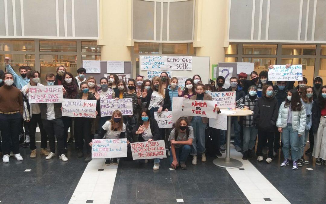 A l'école, parlons de la lutte contre le sexisme : un cours préparé par la Campagne ROSA