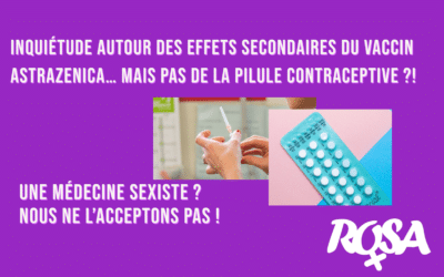 Inquiétude autour du vaccin AstraZeneca à cause des effets secondaires... et la pilule alors?