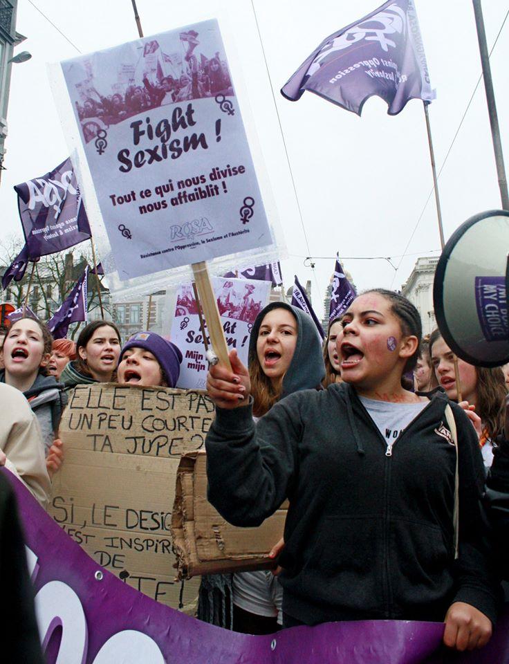 Action : Stop à la violence et aux harcèlements sexuels ! – Leuven