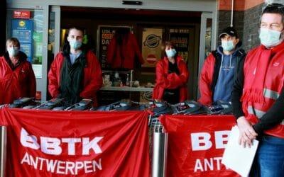 Action. [29/03] Piquet de grève chez Lidl : «Personne ici n'a 14 euros de l'heure»