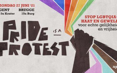 Pride is a Protest. Passons à l'action !